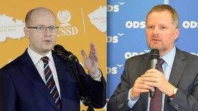 ODS šije do ČSSD: Divadelní spory Sobotky s Babišem a daňový Armagedon