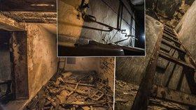 Prostory jako z hororu! V podzemí pod Smíchovským nádražím léta nikdo nebyl