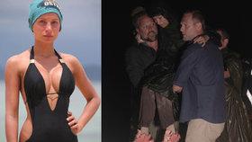 Silikonová Petra z Robinsonova ostrova se zhroutila: Je těhotná?!