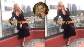 Topmodelka Petra Němcová: Pózování před fotoaparáty jako z jiné dimenze