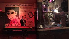 Bar Kafka v Bruselu přeje panákům a pivu. Jak tu znají spisovatele z Prahy?