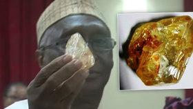 Farář našel jeden z největších diamantů světa. V aukci může vynést miliardu