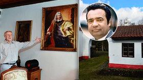 Kterak Moravan Kostelka přesídlil do středočeského Kamberku: Na statku ho hlídá Menšík!