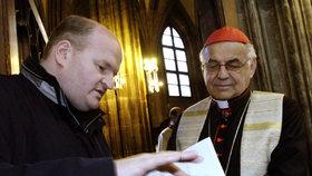 Kardinála Vlka (†84) zabila rakovina. Sám žertoval o čepci od sežrané Karkulky