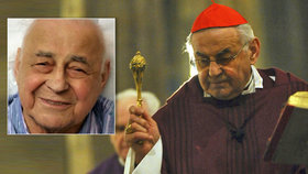 Kardinála Vlka (†84) pohřbí v sobotu. Jeho gesto na poslední fotce povzbudí