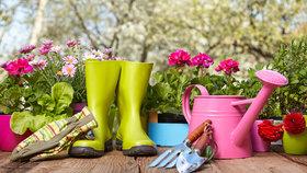 Zima končí, práce na zahradě začínají: Máte všechno potřebné?