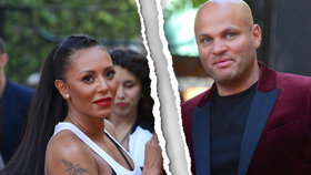 Mel B ze Spice Girls zažádala o rozvod po 10 letech manželství. Její muž ji prý bil