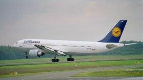 Stávka pilotů: Lufthansa zrušila 800 letů