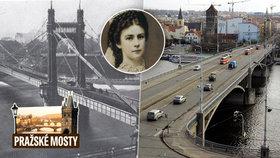 Od Sissi až k zakladateli Československa. Štefánikův most zažil i totalitní smuteční pochod