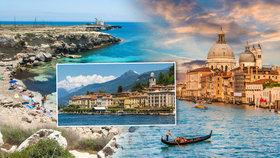 To nejlepší z Itálie: Krása přírody se tu snoubí s nepřebernou historií a bohatou kulturou!