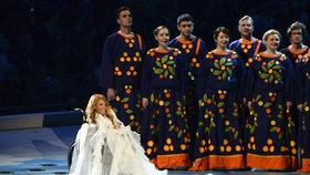 Ruská zpěvačka nesmí soutěžit na Eurovizi v Kyjevě. Navštívila totiž Krym