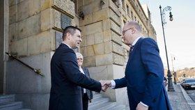 Sobotka chce za ministra průmyslu Havlíčka. Pravou ruku Mládka navrhl Zemanovi