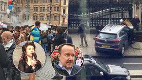 Den Velké Británie v Praze: Co o útoku v Londýně řekla velvyslankyně a britský reportér?