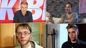 Blázni v televizi: Ajťák Karel, cestovatel Zibura, šílená Darja nebo trapný Metadon