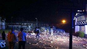 Obří výbuch plynu v Liverpoolu zranil 24 lidí. Taneční studio srovnal se zemí