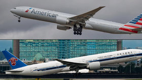 Aerolinky American Airlines pronikly do Číny. Koupí tu podíl v jedničce na trhu