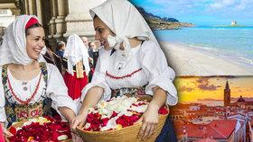 Horkokrevná dáma na jihu Evropy zve k návštěvě: Benvenuti a Italia!