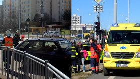 Osobák v Plzni srazil dívenku (11): Měla do silnice vběhnout na červenou