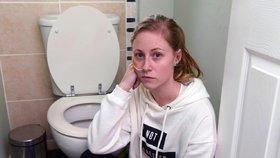 Zvrací 60krát denně. Lékaři jí nevěřili, že není anorektička