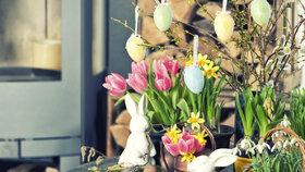 Nejkrásnější velikonoční výzdoba! Vyrobte si veselé jarní dekorace