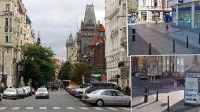 Boj s hlukem v okolí Staromáku: Praha 1 chce sloupky, co omezí řidiče