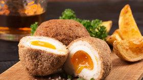 Co s vejci natvrdo? Skotská vejce s mletým masem
