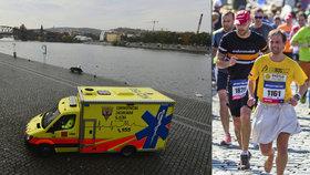 Pražský půlmaraton: Na trati zkolabovalo několik běžců, Keňanka pokořila rekord