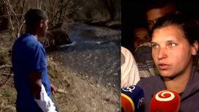 Sabina (22) si odběhla ubalit cigaretu: Syn (†3) se jí utopil v potoce