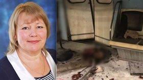 Útočník v metru zabil i známou loutkářku. Chránila dceru vlastním tělem
