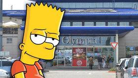 Bombu v OC Olympia nahlásilo dítě! Hrálo si na Barta Simpsona! Milionové škody jdou za rodiči!