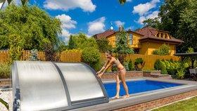 Zastřešte si bazén, budete se těšit z koupání 6 měsíců v roce!
