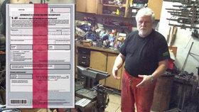 """Kovář Zdeněk o nemocenské: Almužna! Zaměstnanci """"marodí"""" 16krát častěji než on"""