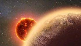 Vědci objevili atmosféru na planetě podobné Zemi. Pozemský život by se tam ale uvařil