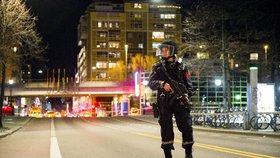 Bomba v centru Osla: Policisté nálož zneškodnili a zadrželi podezřelého