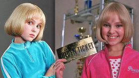 Vzpomínáte na protivku Violet z Karlíka a továrny na čokoládu? Jak dnes vypadá?