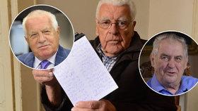 """""""Semelou prostituci i Einsteina."""" Řeči politiků zapisuje Jiří Novák (90) léta"""