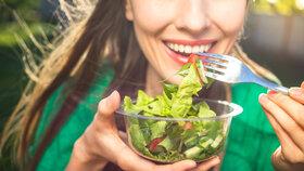 4 rady pro dokonalý salát! Zhubnete, a přitom nebudete mít hlad