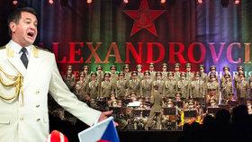 Alexandrovci se vracejí: Ani pád letadla sbor nezastavil!