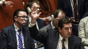 Rusové vetovali rezoluci OSN odsuzující chemický útok v Sýrii. Čína se zdržela