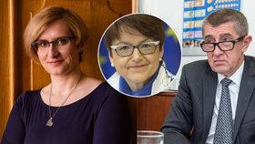 Babiše kvůli dotacím brání Šlechtová: Spojka Merkelové si zasedla na Česko