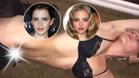 Hacker, který odhalil dudy Emmy Watson a orál Amandy Seyfried, opět úřadoval: Zveřejnil nahé fotky Miley Cyrus
