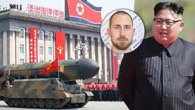 Zpustošíme USA, hrozí KLDR. Český expert řeší hrozbu jaderné války