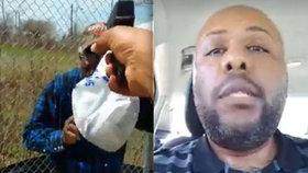 Konec řádění »facebookového vraha«: Zastřelil se na útěku před policií!