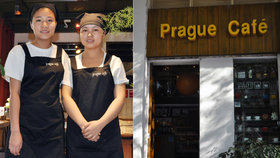 V Číně otevřeli Pražskou kavárnu. Uvidíte Hrad, Karlův most i Kafku