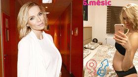 Těhotná moderátorka Mašlíková to za svá slova drsně schytala od maminek!