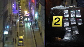 Razie na prodejce drog u Václaváku: Policie odhalila nový systém dealerů
