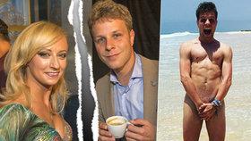 Bývalý partner Hunčárové Onder úplně nahý! Honzo, takhle lovíš novou lásku?