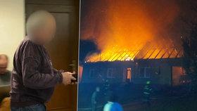 Zapálil dům a svou ženu nechal uhořet: Muž z Rychnovska dostal 10 let
