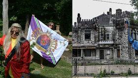 Výstřední milionář se prohlásil králem »Zambodie«: Svůj falešný hrad pak proměnil v noční klub