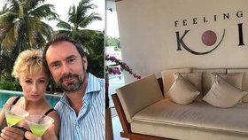 Prozrazeno: Kuchař Ridi vzal Hunčárovou po luxusních horách na Maledivy!
